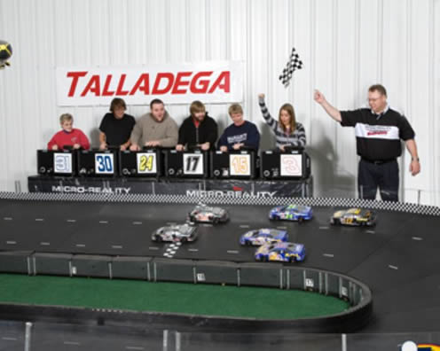 Taking the Checkered Flag | The Thrill of Winning with Micro-Reality Motorsports