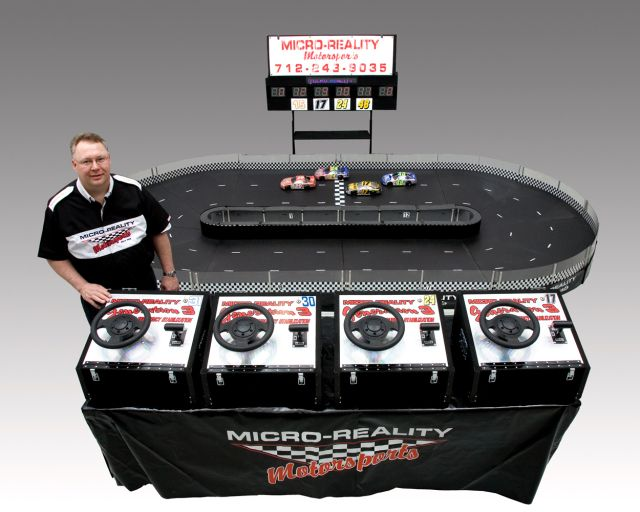 Micro-Reality Motorsports 4 Person Interactive Small Track